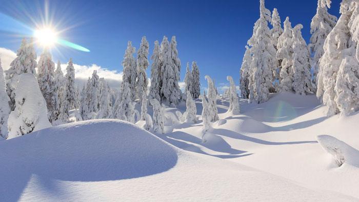 AGALC | Scène hivernale à La Conception dans les Laurentides