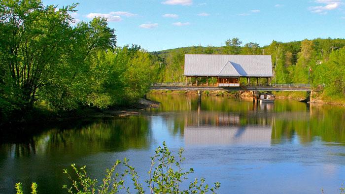 AGALC | Le pont sur la Rivière Rouge à La Conception