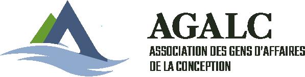 AGALC Logo horizontal - Association des gens d'affaires de La Conception
