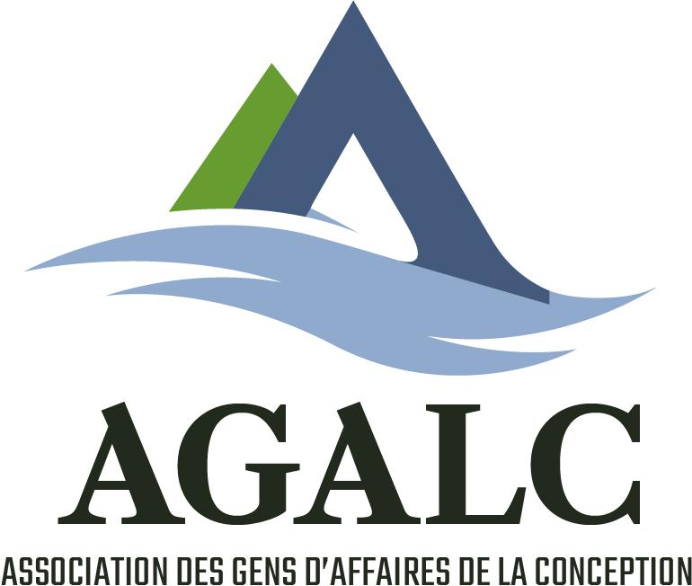 Image de marque de l'AGALC soit l'Association des Gens d'Affaires de La Conception